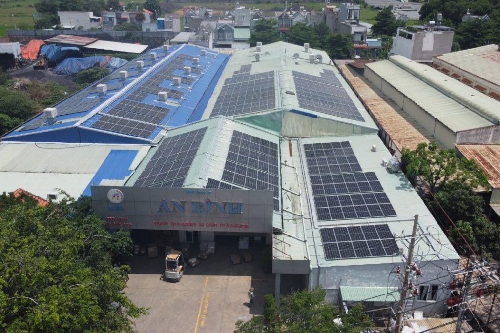 Solaranlage für An Binh Printing