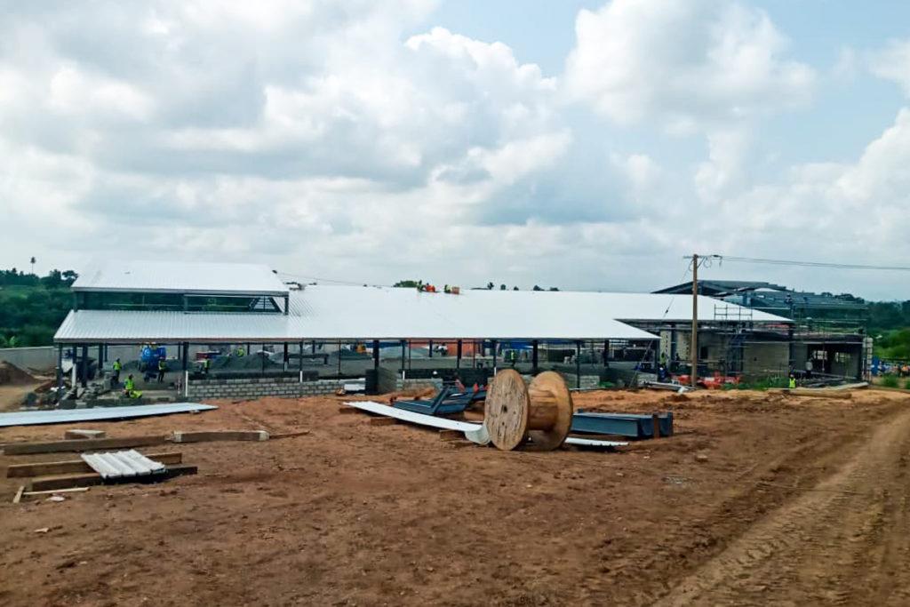 Bauarbeiten bei fairafric