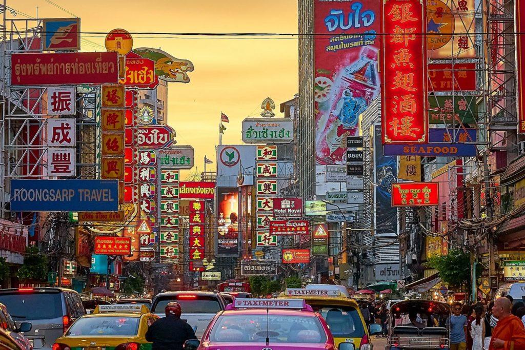 Ein Blick in die Straßen Bangkoks.