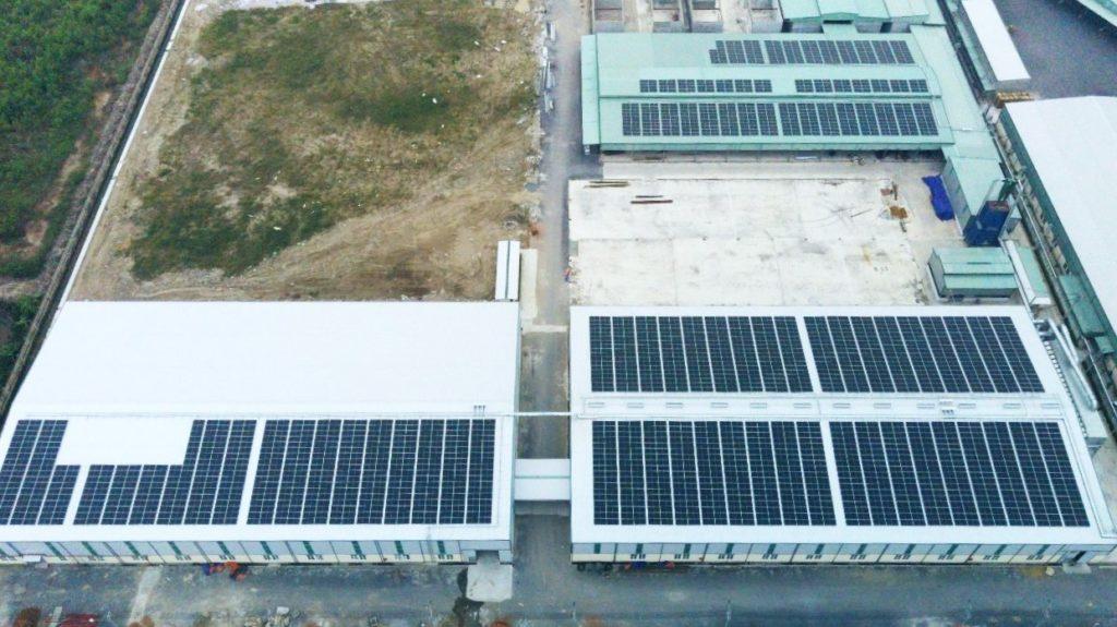 1.134 kWp lắp đặt năng lượng mặt trời Rừng Nam Định.