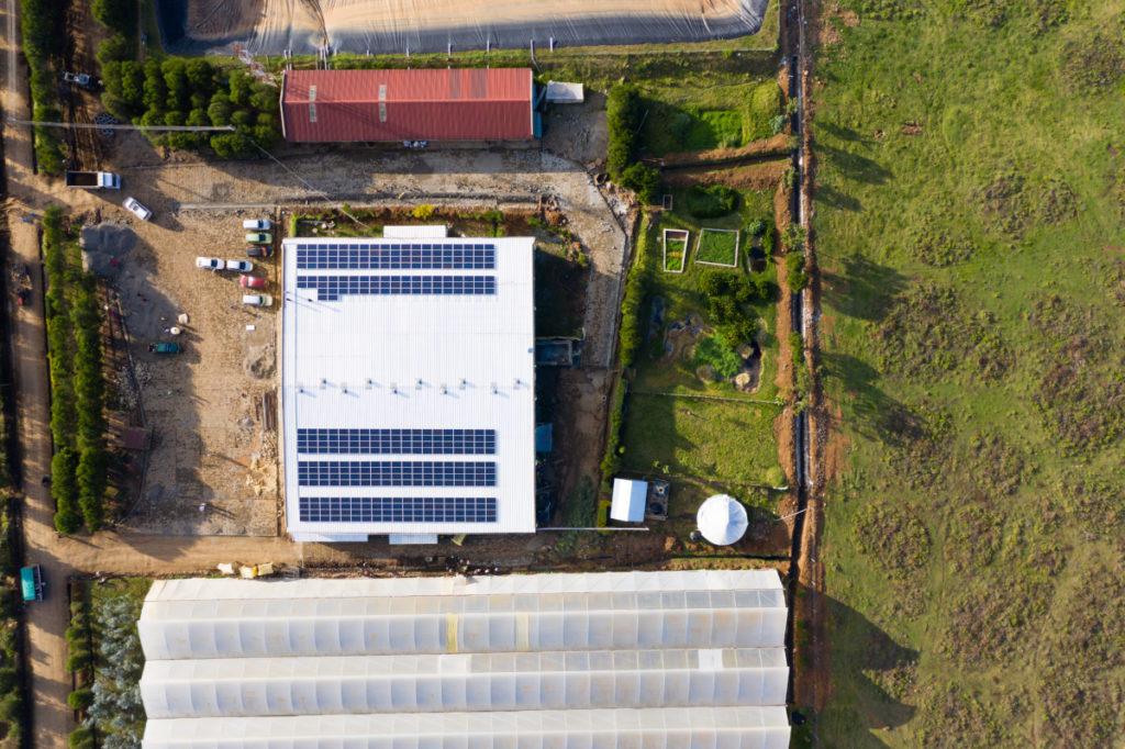 Hệ thống năng lượng mặt trời tại Credible Blooms