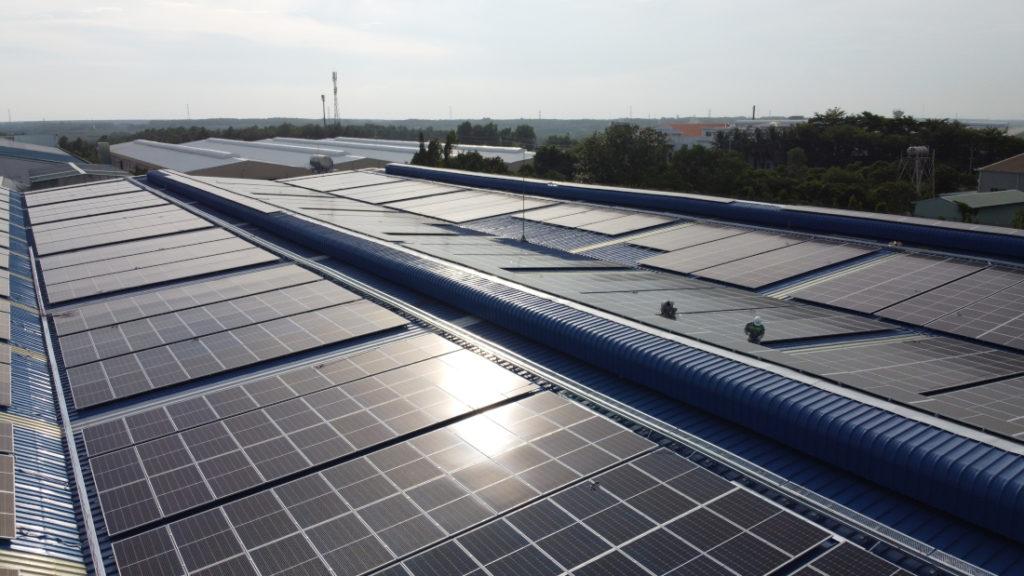 Hệ thống năng lượng mặt trời cho Bao bì Đông Nam Việt