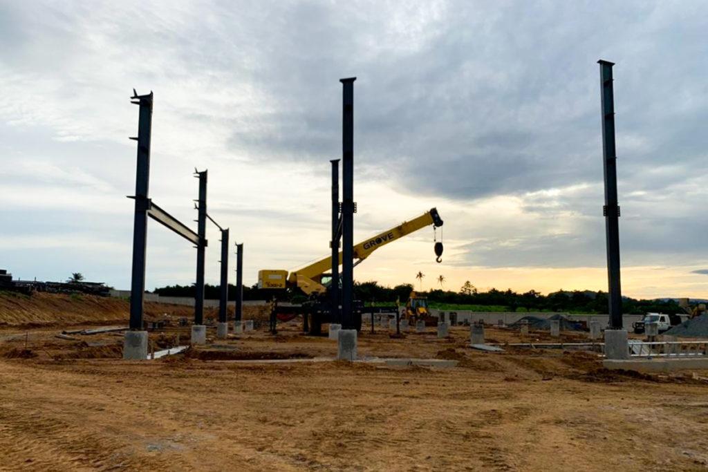 Construction at fairafric