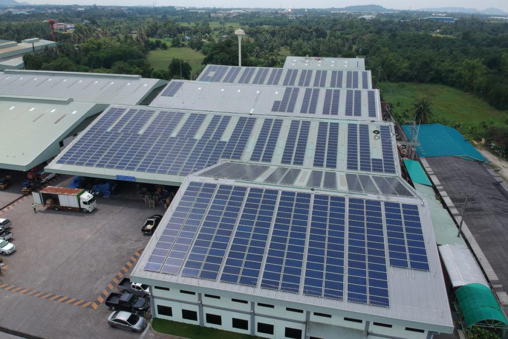773 kWp solar system.