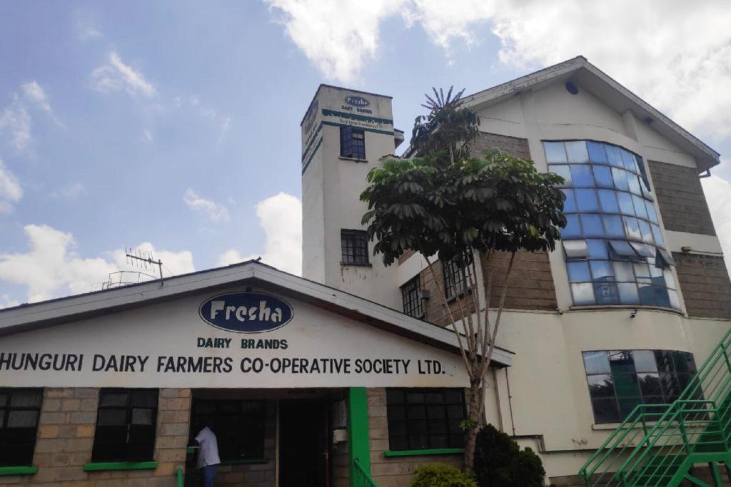 Fresha Dairies factory