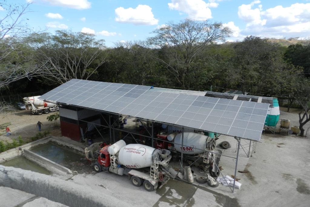 Solar plant at HyM Guanacaste