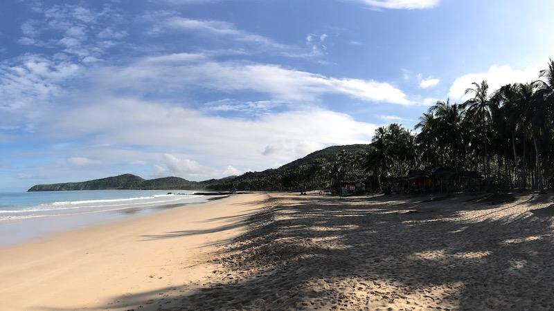 Beach at Qi Palawan.