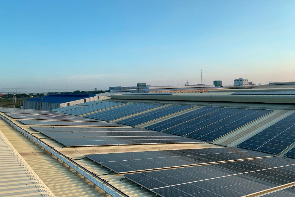 Solaranlage für Kim Duc