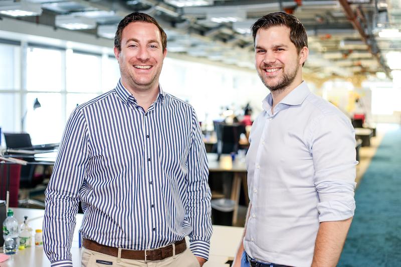 Giám đốc điều hành ecoligo Martin Baart và Giám đốc tài chính Markus Schwaninger