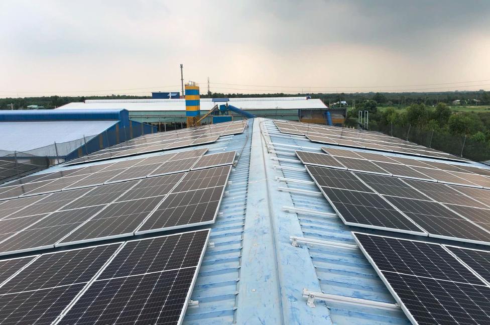 Solar system at Thien Nam Elevator