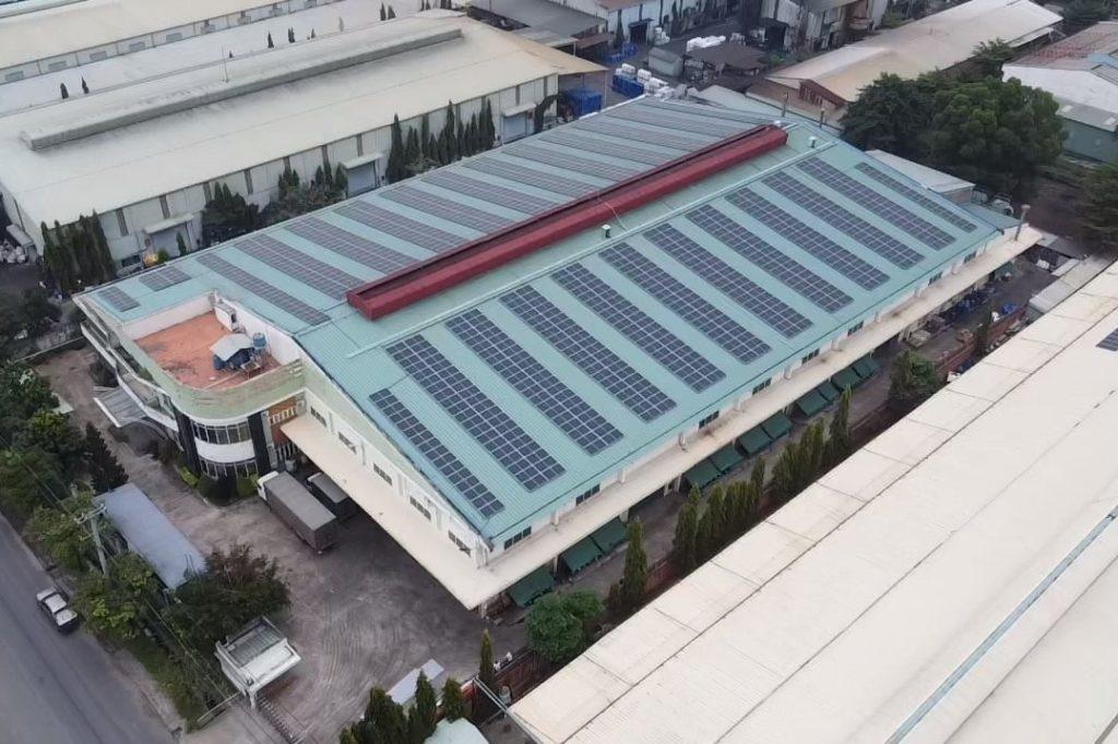 Solar plant at Viet Roll