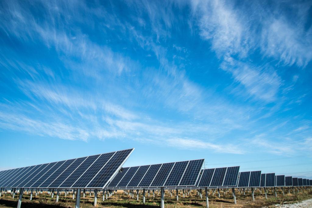 Freiflächen Solaranlage