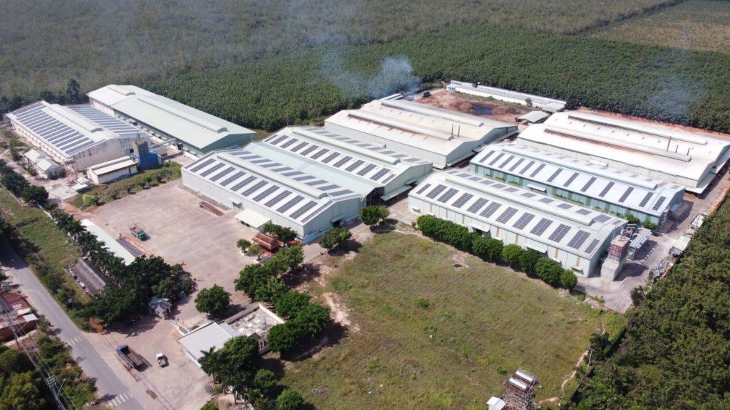 1,127 kWp solar plant - Tay Ninh Furniture..