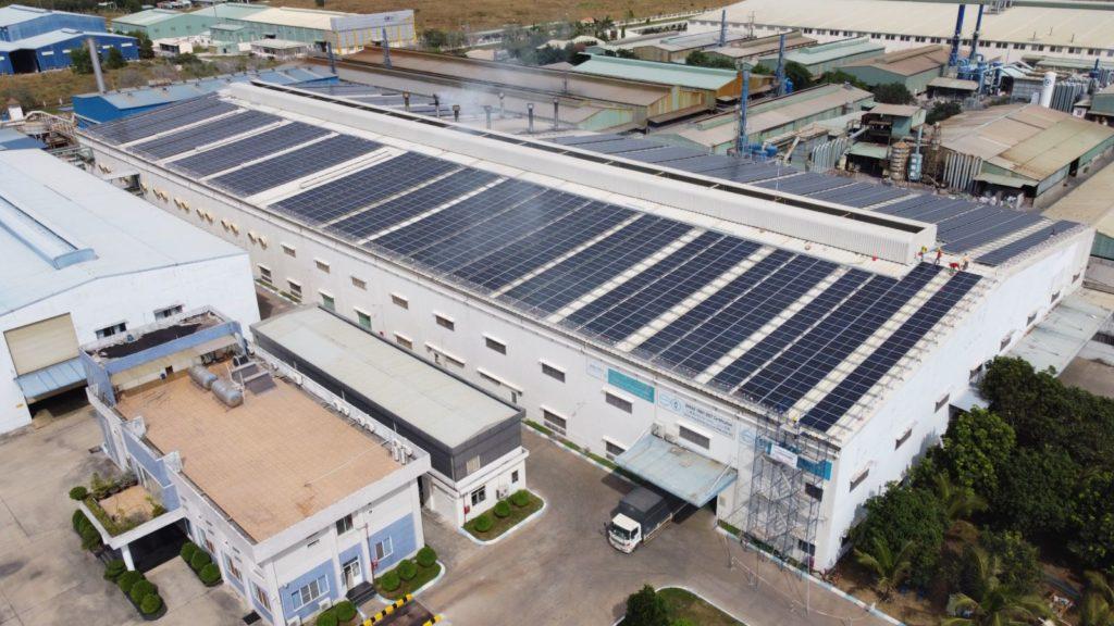 1,001 kWp solar installation - Radiant.