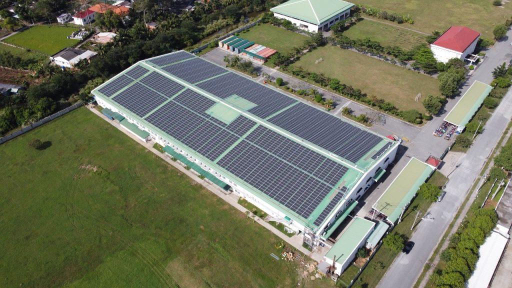 1,008 kWp solar installation - Green TG.