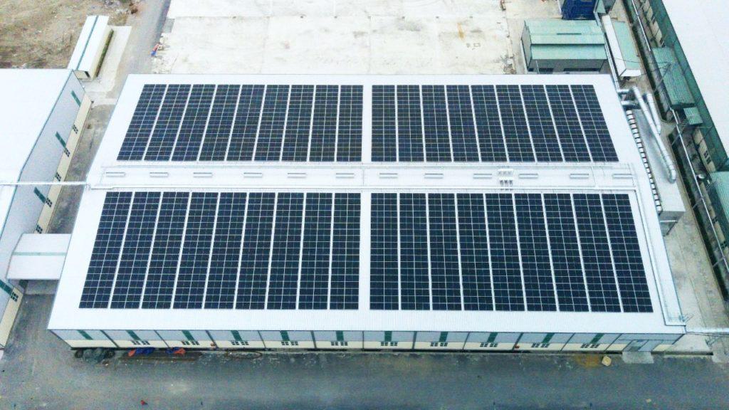 Solar system for Nam Dinh Forest